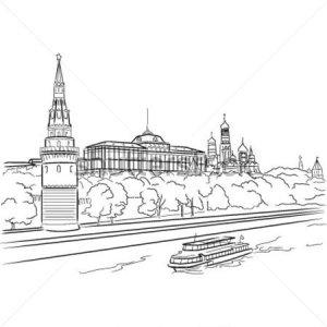 vector-moscow-kremlin