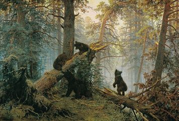 400px-Shishkin,_Ivan_-_Morning_in_a_Pine_Forest